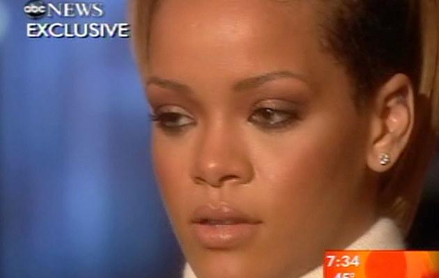"""Rihanna w programie """"Good Morning America""""  /Splashnews"""
