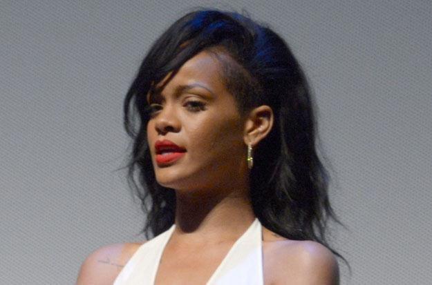 Rihanna wciąż wspomina chwile z Chrisem Brownem fot. Kevin Winter /Getty Images/Flash Press Media