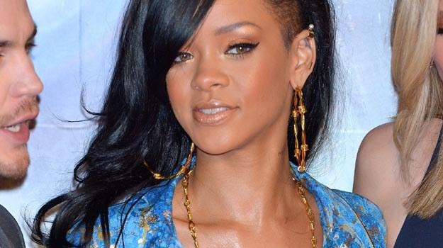 """Rihanna zajęta jest teraz promocją swego aktorskiego debiutu """"Battleship. Bitwa o Ziemię"""" - fot. K.N /Getty Images/Flash Press Media"""