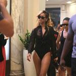 Rihanna zapomniała się ubrać