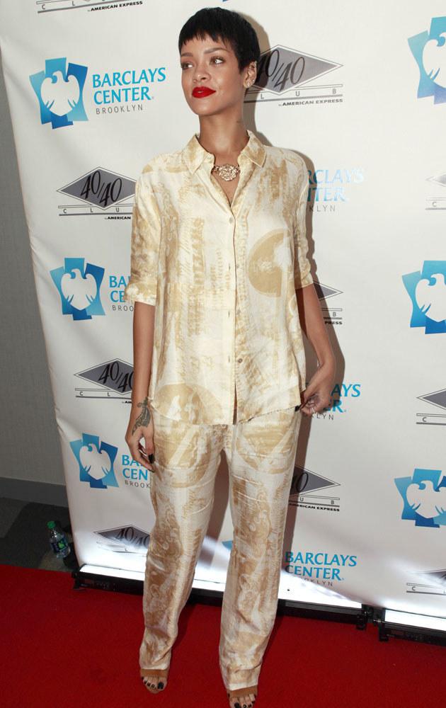Rihanna /Allison Joyce /Getty Images
