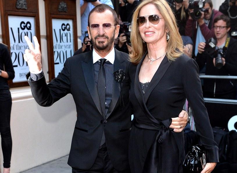 Ringo Starr i Barbara Bach /Anthony Harvey /Getty Images