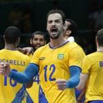 Rio 2016. Brazylia - Włochy 3:0 w finale turnieju siatkarzy