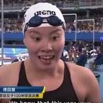 Rio 2016. Kosmiczna cieszynka chińskiej pływaczki