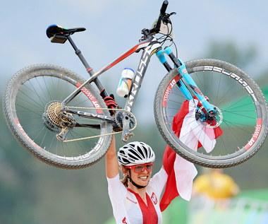 Rio 2016. Maja Włoszczowska ze srebrnym medalem w kolarstwie górskim
