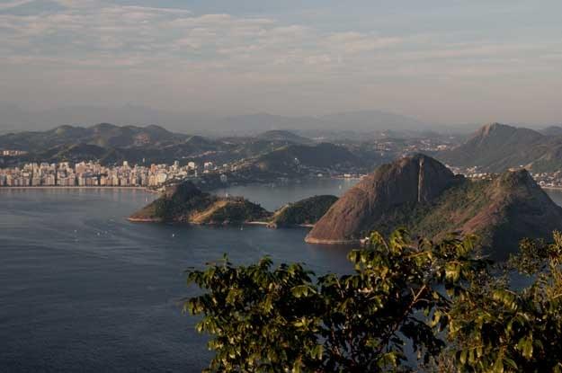 Rio de Janeiro. Widok z Pao de Açúcar zatokę Guanabara /INTERIA.PL
