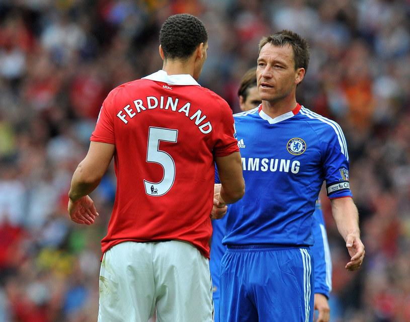 Rio Ferdinand i John Terry kiedyś podawali sobie ręce /AFP