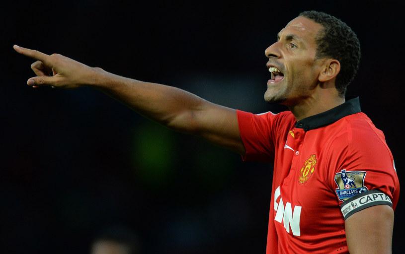 Rio Ferdinand w barwach Mandchesteru United /AFP