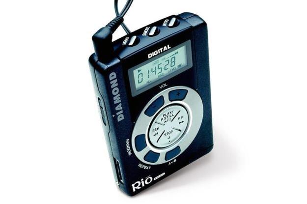 Rio PMP300 - pierwszy przenośny odtwarzacz MP3, jaki trafił do sprzedaży /materiały prasowe