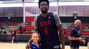 Rio: Zabawne zdjęcie gimnastyczki i koszykarza