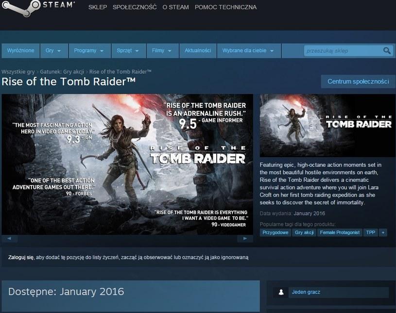 Rise of the Tomb Raider /materiały źródłowe