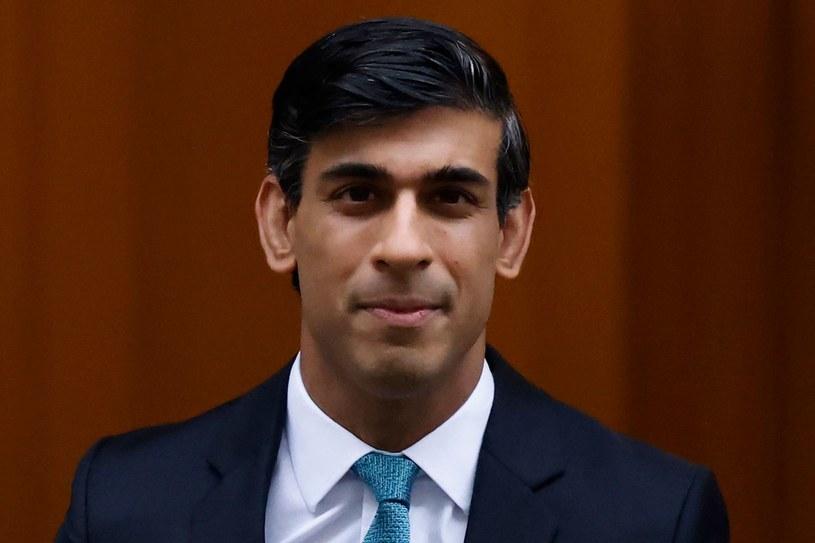 Rishi Sunak, minister finansów W. Brytanii /AFP