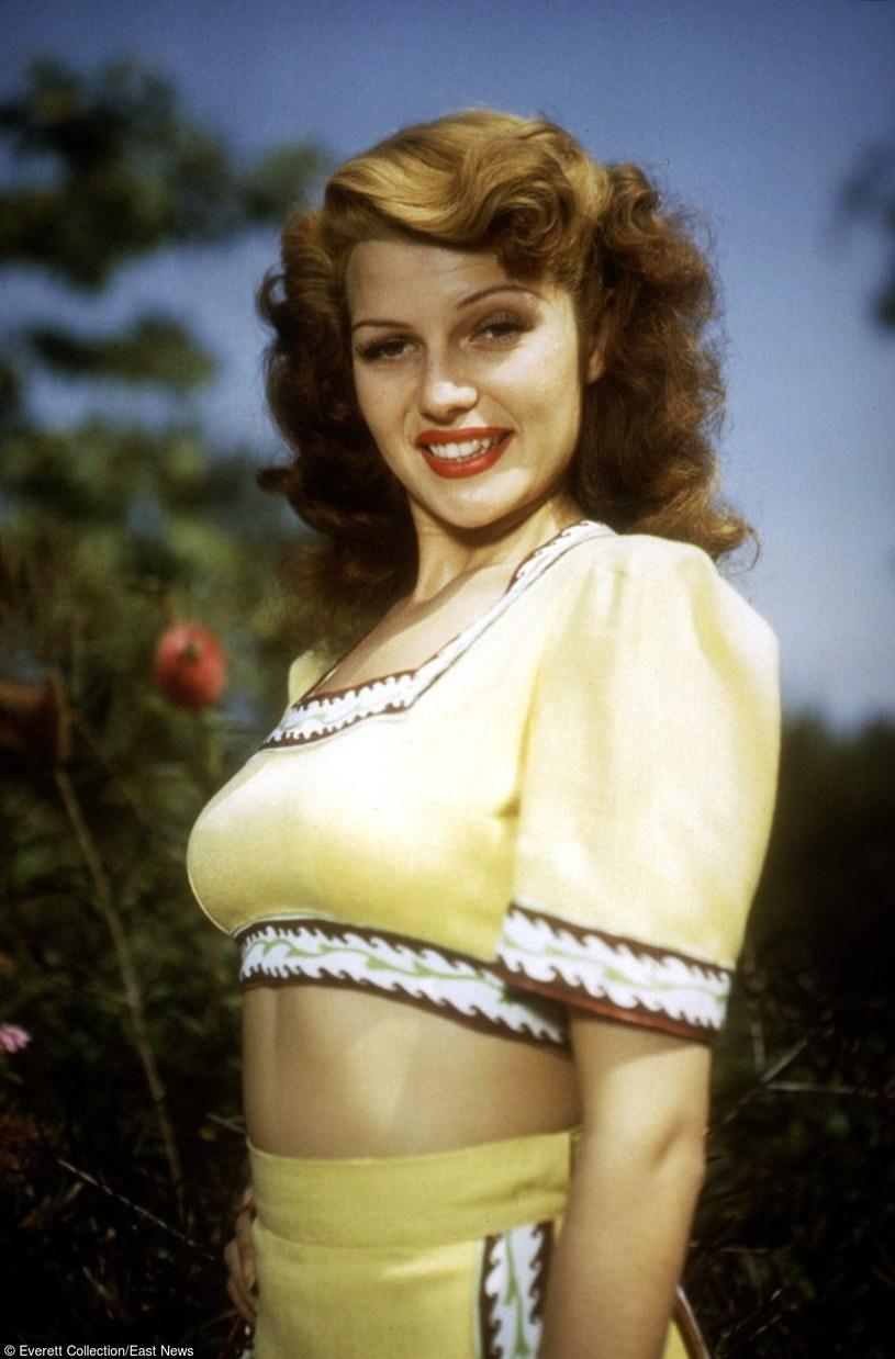 Rita Hayworth na początku aktorskiej kariery /Everett Collection /East News