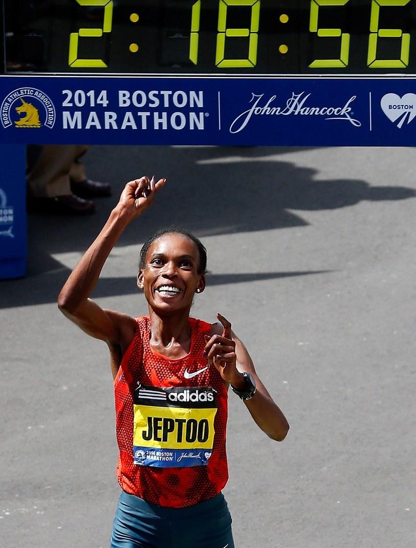 Rita Jeptoo /AFP