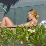 Rita Ora sfotografowana przez paparazzich na terenie jej własnej posiadłości!