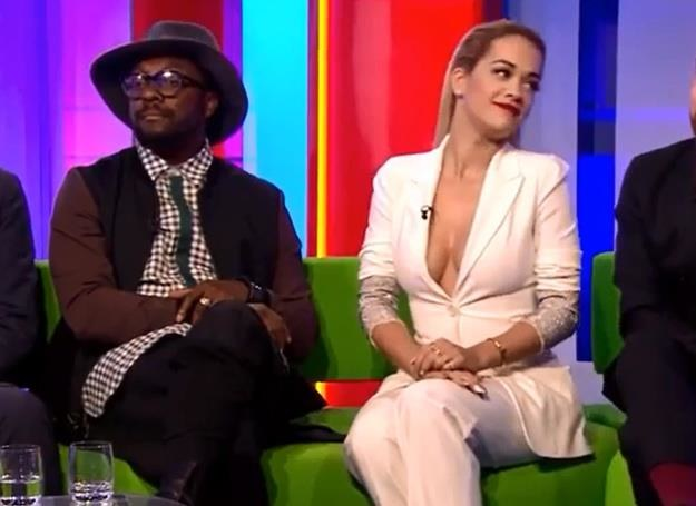 "Rita Ora w programie ""The One Show"" /"