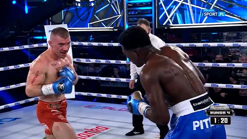 Rivera pokonał Rutkowskiego /Polsat Sport /