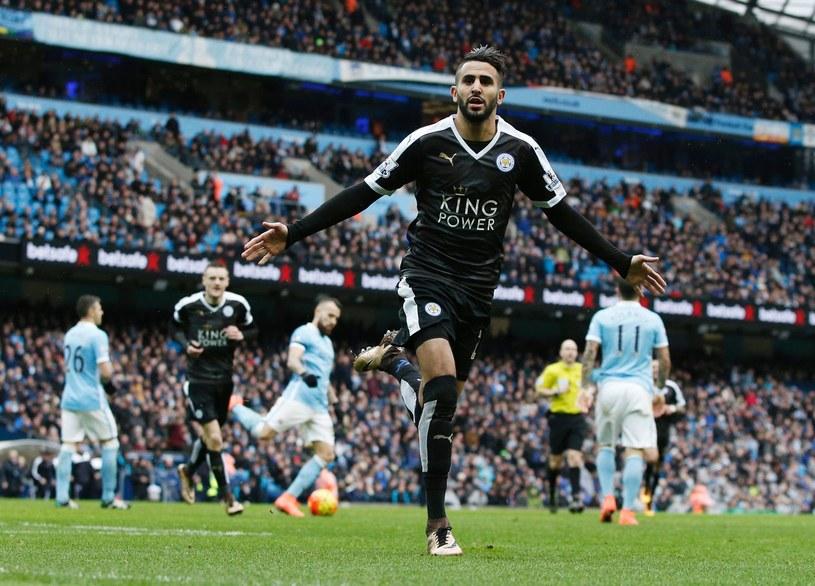 Riyad Mahrez rozgrywa świetny sezon /AFP