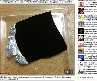 RMF 24: Wynaleźli materiał czarniejszy od czarnego