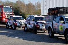 RMF Caroline Team w drodze na Rajd Dakar