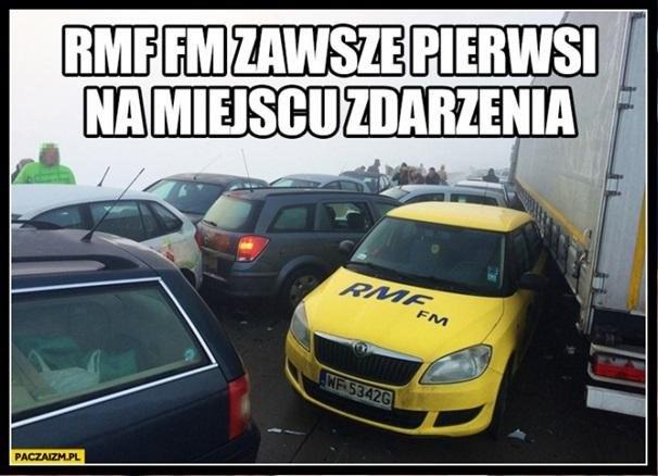RMF FM: zawsze pierwsi na miejscu zdarzenia /INTERIA.PL