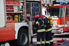 RMF: Pożar składowiska zużytych chemikaliów w Maliszewie