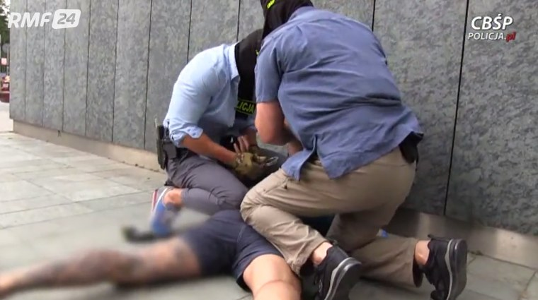 RMF: Spektakularna akcja policji w hotelu w Warszawie /RMF