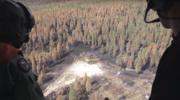 RMF: Szwedzi bombardują płonące lasy