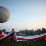 RMF24: Gigantyczna flaga nad Krakowem!