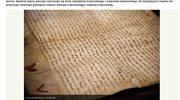 RMF24: Tylko dziś można zobaczyć akt lokacyjny Krakowa z 1257 roku