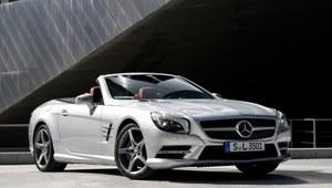 Roadster Mercedesa z innowacyjnymi wycieraczkami
