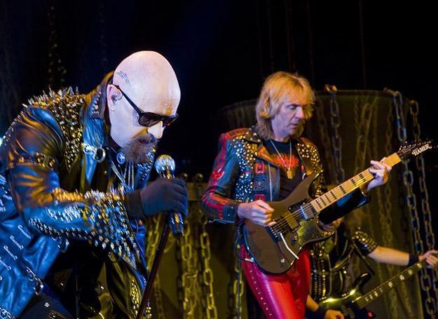 Rob Halford i Glenn Tipton (Judas Priest) w katowickim Spodku /fot. Przemek Kokot / www.pkokot.com