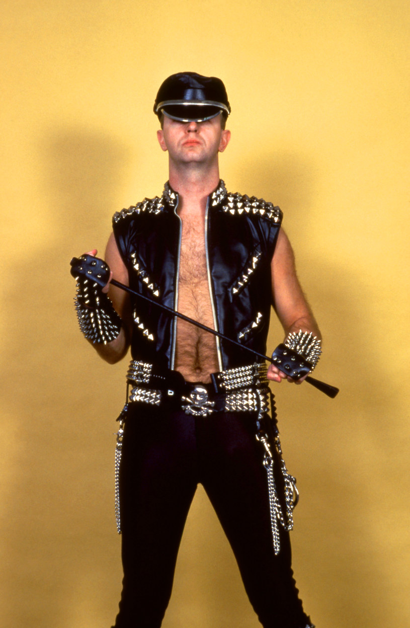 Rob Halford w 1984 r. / Ross Marino /Getty Images