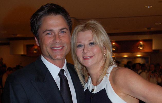 Rob i Sheryl Lowe  /Splashnews