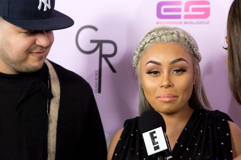 Rob Kardashian i Blac Chyna /Getty Images