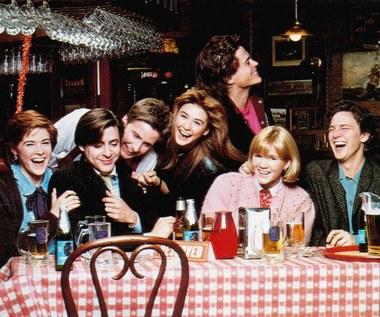 """Rob Lowe, Emilio Estevez, Demi Moore oraz pozostali członkowie obsady filmu """"Ognie świętego Elma"""""""