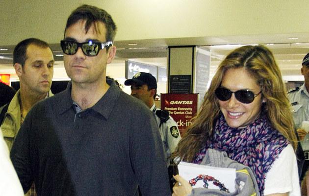 Robbie Williams i Ayda Field  /Splashnews