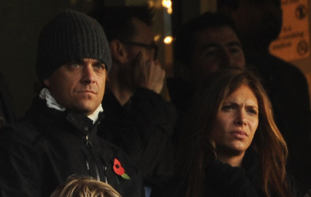 Robbie Williams i Ayda Field, fot. Shaun Botterill   /Getty Images/Flash Press Media