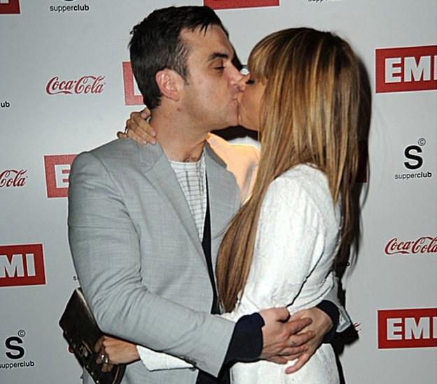 Robbie Williams i Ayda Field planują ślub - fot. Richard Young /East News