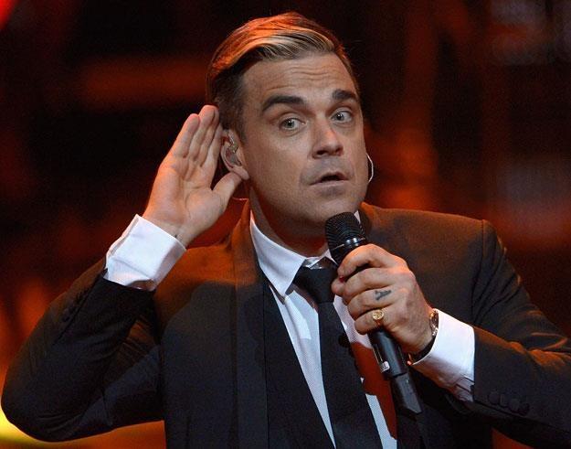 Robbie Williams przeszedł transplantację włosów z nudów fot. Luca Teuchmann /Getty Images/Flash Press Media