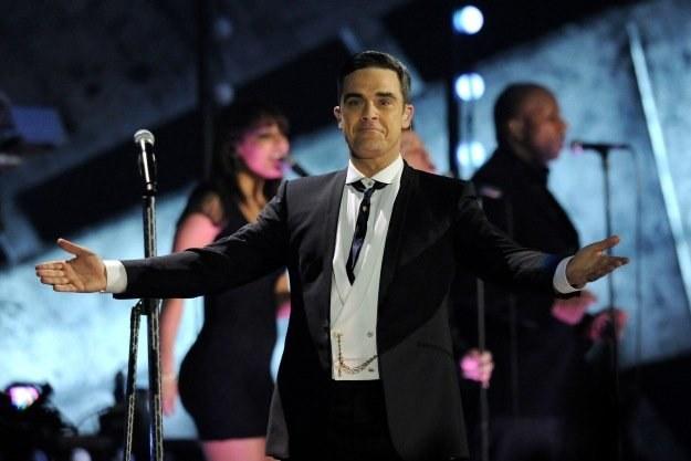 Robbie Williams przyjął teściową z otwartymi rękami fot. Gareth Cattermole /Getty Images/Flash Press Media