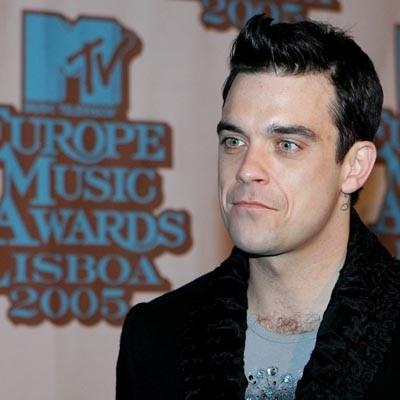 Robbie Williams w Lizbonie /AFP