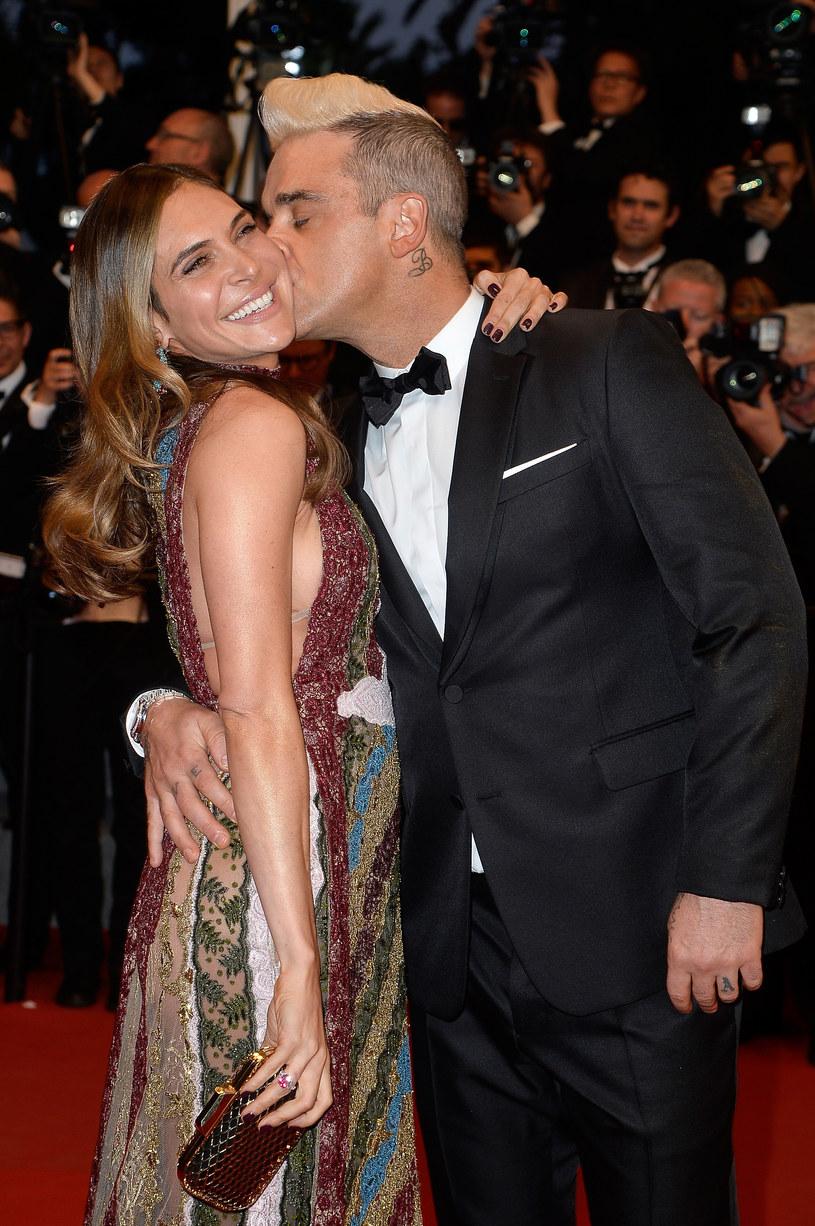 Robbie Williams z żoną /Pascal Le Segretain /Getty Images