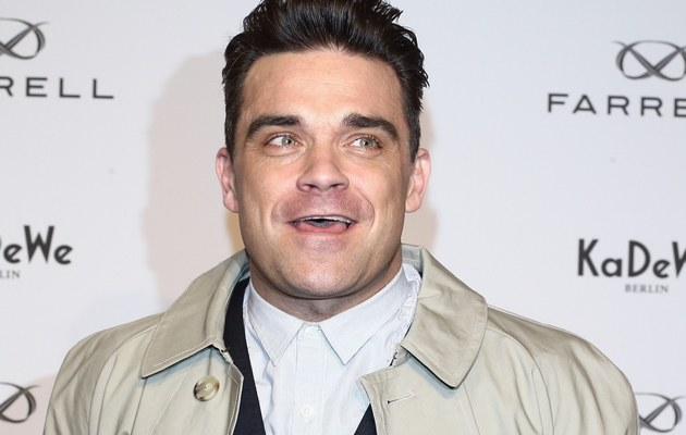 Robbie Williams /- /Getty Images