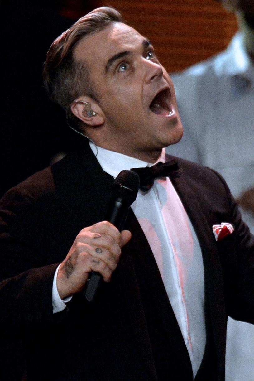 Robbie Williams /Sascha Steinbach /Getty Images