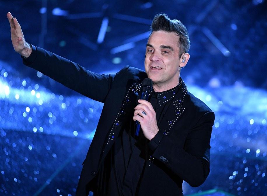 Robbie Williams /ETTORE FERRARI /PAP/EPA