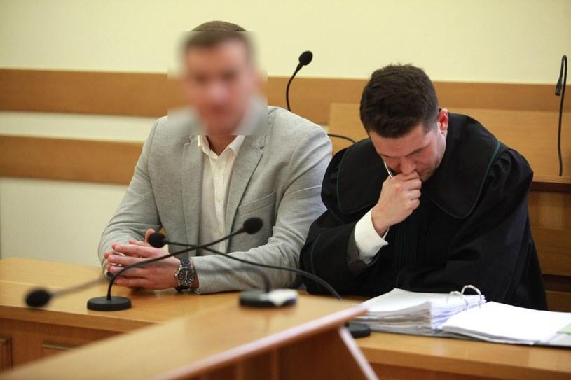 Rober N. w sądzie w 2015 roku /Artur Hojny /Agencja SE/East News