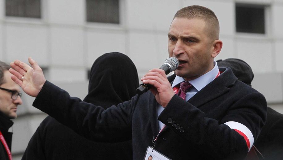 Robert Bąkiewicz /Wojciech Olkuśnik /PAP