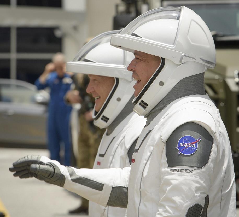 Robert Behnken i Douglas Hurley /NASA/Bill Ingalls HANDOUT /PAP/EPA