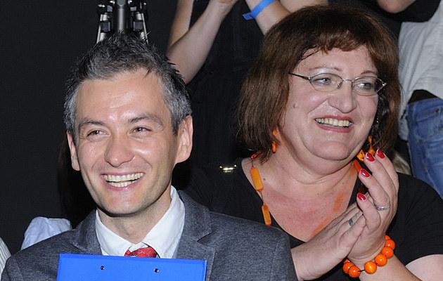 Robert Biedroń, Anna Grodzka /Jarosław Antoniak /MWMedia